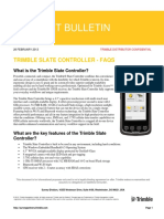 2013 Trimble Slate Controller - Faqs