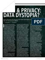 32-33 Dossier Datarevival - Zorg en Privacy Data Distopia