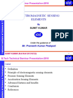 Electromagnetic Sensing Elements