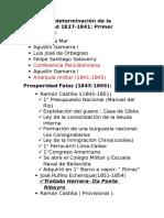 Periodos de La Historia de La Republica Del Peru