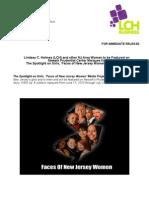Faces of NJ Women Press Release