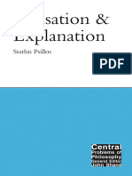 Causation and Explanation - Stathis Psillos