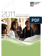 2011 Business & Economics Undergraduate Quick Guide