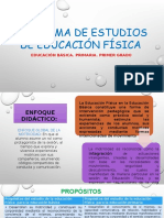 Programa de Estudios de Educación Física. Jhon Diapos