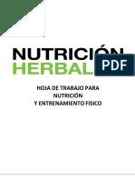 Guia de Entrenamiento y Alimentacion