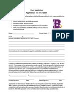 peer mediation application