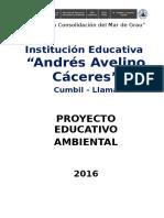 Proyecto Educativo Ambiental A.A.C