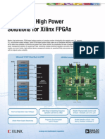 Analog Devices - Integrated, High Power Solutions for Xilinx FPGAs