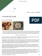 A Comida Dos Orixás _ Candomblé