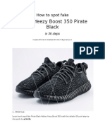 Authentic Yeezy 350 Verification