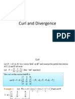 13.5 Curl and Divergence
