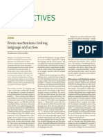Pulvermüller - 2005 - Brain mechanisms linking language and action