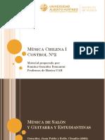 Material de Estudio - Control 2 Musica Chilena I RGR