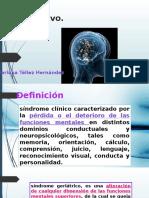 Deterioro cognitivo y depresion geriatria