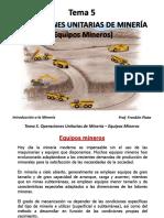 Tema 5. Equipos Mineros