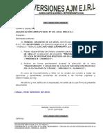 DECLARACIONES JURADAS INVERSIONES AJM E.I.R.L.doc