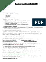 C# Resumen (Bases)