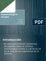 Sistema Inmunológico Innato