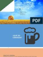Anteproyecto Estudio Cerveza