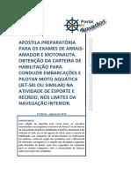 ARRAIS AMADOR E MOTONAUTA
