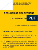 Crisis de 1930 y Tercer Militarismo