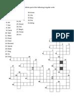 Crossword Past Irregulars i