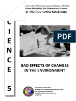 01_Bad Effects of Changes in the Environment