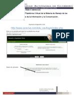 Manual de Usuario Plataforma Tics