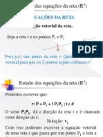 Aula 5_GA Equação Da Reta