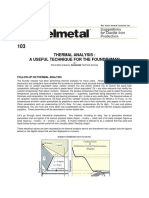 analise termica sorelmetal