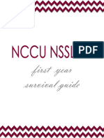 Survival Guide for NCCU