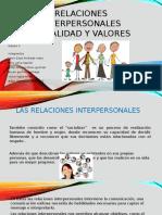 Relaciones Interpersonales Sexualidad y Valores