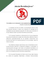 """Proyecto Político """"Revolucion Socialista"""""""
