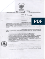 Modelo de Resolución de Comisión de Gestión de Riesgo