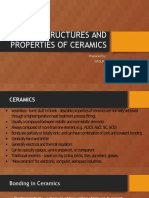 Structures and Properties of Ceramics