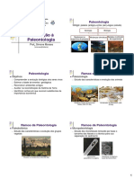 Aula 1 - Introducao a Paleontologia