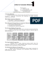 An Introduction to Consumer Behavior 2015 1 - 5