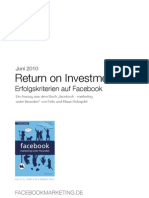 Return on Investment – Erfolgskriterien auf Facebook