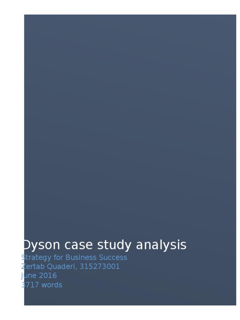 dyson company case study