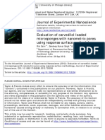 Journal of Experimental Nanoscience Volume 9 issue 8 2014 [doi 10.1080_17458080.2012.725258] Saini, Rini; Singh, Sandeep Kumar; Verma, Priya Ranjan Prasad -- Evaluation of carvedilol-loaded microspo.pdf