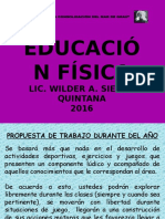 Educacion Fisica Ppt 1 Aac 2016