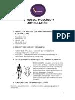Hueso, Musculo y Articulacion