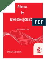 ARTIC IMST Automotive Applications