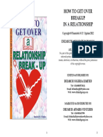 How to Get Over a Relationship Break-up (Book)