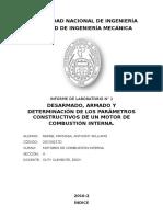 Informe 1 Motores de combustión interna FIM-UNI