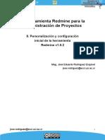 09 Personalizacion Inicial Del Redmine