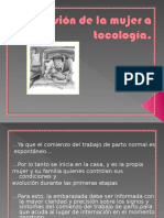 Admision a Tocologia