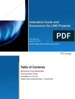 Indicative Costs and Economics for LNG Projects