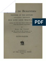 Humanistica Lovaniensia Vol. 9, 1950_Jerome de Busleyden FOUNDER OF THE LOUVAIN COLLEGIUM TRILINGUE HIS LIFE AND WRITINGS.pdf