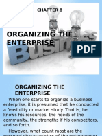 Chapter 8 Organizing the Enterprise